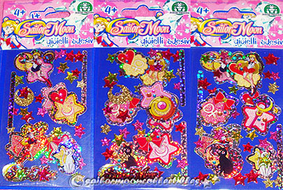 sailor moon sticker sheet 2011