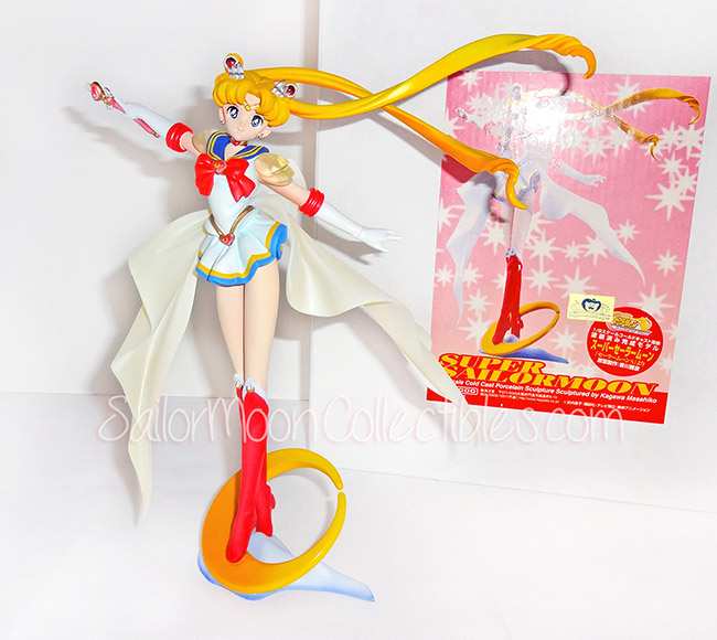 """sailor moon"" ""super sailor moon"" ""sailor moon figure"" ""sailor moon doll"" ""sailor moon toy"" ""sailor moon merchandise"" ""sailor moon world"" ""cold cast"" kaiyodo anime japan figure"