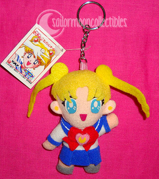 usagi sailormoon plush keychain
