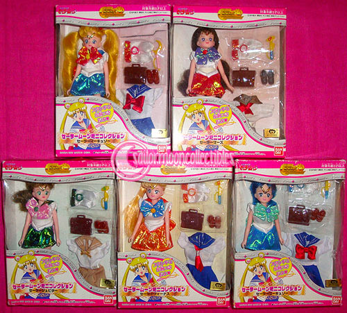 sailor moon world doll venus jupiter inner