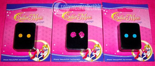 """sailor moon"" earrings jewelry ge toys merchandise 2012"