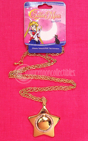 """sailor moon"" ""sailor moon star locket"" star locket ge merchandise new"
