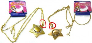 &quot;sailor moon star locket&quot; &quot;sailor moon toys&quot; &quot;sailor moon&quot; star locket new 2013