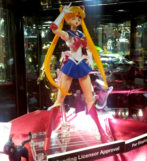 """sailor moon"" ""sailor moon 2013"" ""sailor moon toys"" figure new bandai ""new york"" ""toy fair"""
