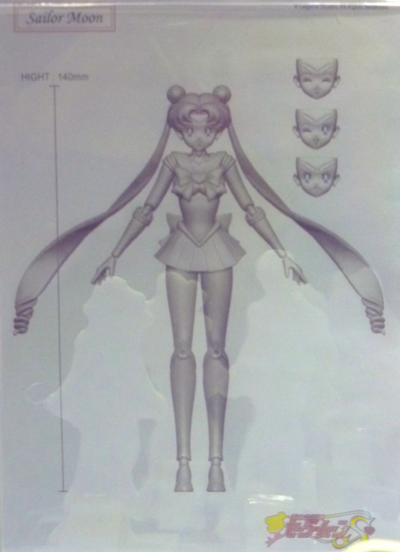 """sailor moon"" ""sailor moon toys"" new 2013 ""acg expo"" toys action figures"
