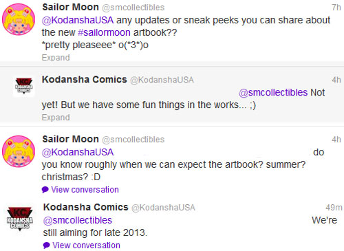 &quot;sailor moon&quot; &quot;sailor moon 2013&quot; new anime artbook collectibles merchandise kodansha manga comic book