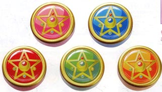 """sailor moon"" ""sailor moon toys"" ""sailor moon locket"" ""sailor moon compact"" ""sailor moon 2013"" ""sailor moon merchandise"" compact brooch locket rpg toy new anime bandai japan case box"