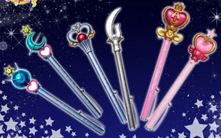 """sailor moon"" ""sailor moon merchandise"" ""sailor moon toys"" ""where to buy"" shopping ""sailor moon wand"" ""sailor moon 2014"" ""outer senshi"" liprod ""spiral heart wand"" ""pink sugar heart wand"" pen pointer ""sailor moon anime"" ""20th anniversary"" anime new japan"