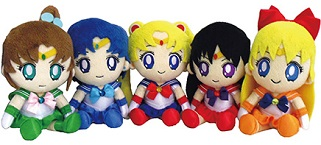"""sailor moon"" ""sailor moon toys"" ""sailor moon merchandise"" ""sailor moon 2013"" plush plushies toys doll anime new merchandise japan bandai"