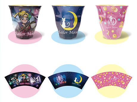 """""""sailor moon"""" """"sailor moon 2013"""" """"sailor moon merchandise"""" """"sailor moon toys"""" cup mug home kitchen accessories collectibles new anime merchandise toy japan bandai"""