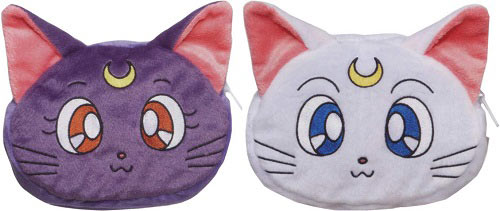 """sailor moon"" ""sailor moon 2013"" ""sailor moon toys"" ""sailor moon merchandise"" ""20th anniversary"" luna artemis pouch bag new anime merchandise japan"