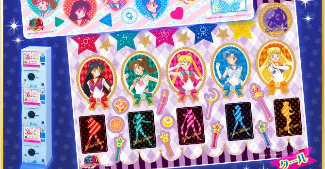 New Sailor Moon Metal Sticker Sheets Coming May 2014