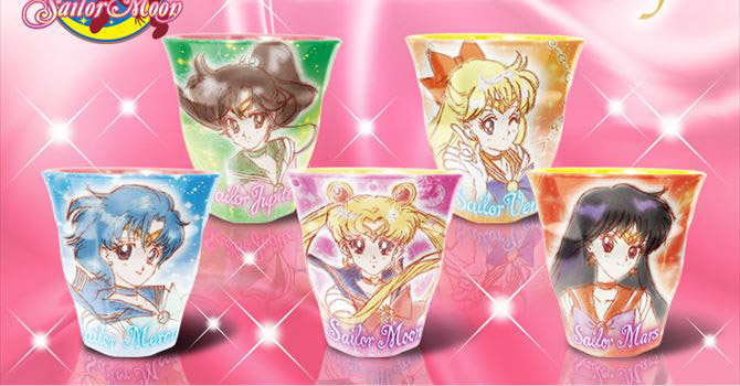 NEW Sailor Moon Melamine Cups Set 2 + Details on the New Stationery