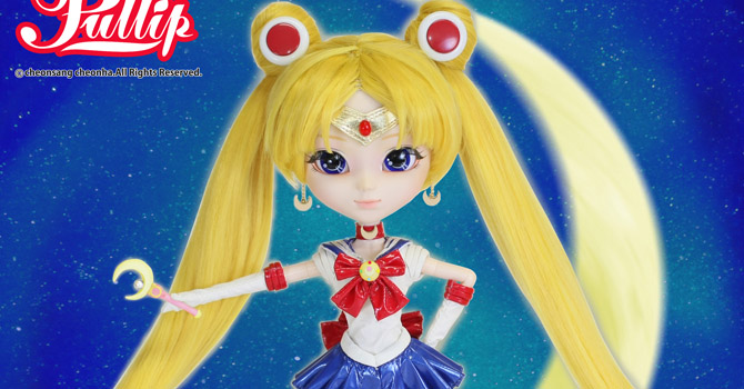 Sailor Moon Pullip Doll & Display at Anime Japan 2014!