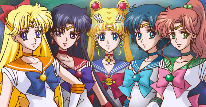 Anime Characters 2014 : Sailor moon character