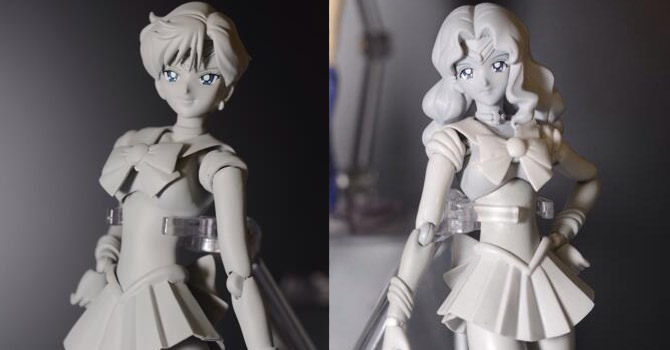 "Sailor Uranus & Sailor Neptune S.H. Figuarts Revealed at ""Tamashii Nations Summer Collection 2014"""
