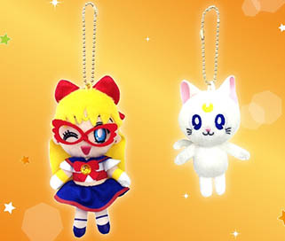"""sailor moon"" ""sailor moon toys"" ""sailor moon merchandise"" ""sailor moon 2014"" ""sailor moon plush"" japan anime shopping 2014 ""sailor v"" artemis plushie"