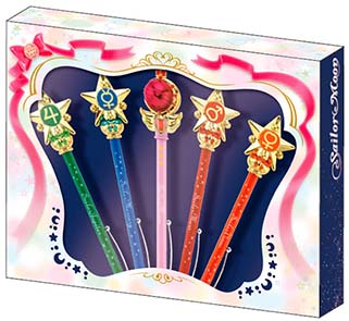 """sailor moon"" ""sailor moon wand"" ""sailor moon merchandise"" ""sailor moon toys"" ""sailor moon 2014"" ""sailor moon wand pointers"" sunstar anime japan shopping toy 2014"