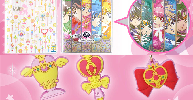 Sailor Moon New Charm Charapins + 2015 Schedule Books Coming Summer