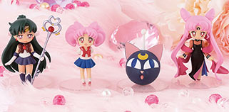 """sailor moon"" ""sailor moon merchandise"" ""sailor moon 2015"" ""sailor moon toys"" ""sailor moon figures"" ""sailor pluto"" chibiusa ""luna p"" ""black lady"" japan anime ufo crane game prize banpresto shop"