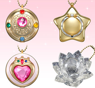 """sailor moon"" ""sailor moon toys"" ""sailor moon merchandise"" ""sailor moon compact"" ""star locket"" ""silver crystal"" ""sailor moon brooch"" ""candy toy"" bandai anime shop japan"
