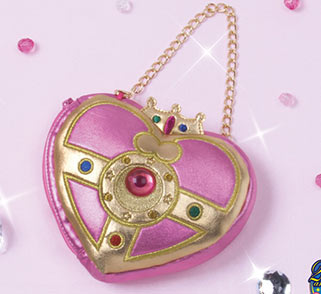 """sailor moon"" ""sailor moon compact"" ""sailor moon merchandise"" ""sailor moon toys"" ""sailor moon plush"" ""cosmic heart"" purse pouch bag case fashion japan anime shop"