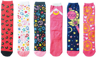 """sailor moon"" ""sailor moon merchandise"" ""sailor moon socks"" ""sailor moon wand"" ""sailor moon compact"" ""sailor moon apparel"" fashion clothes japan socks shop anime"