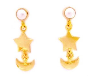 """sailor moon"" ""sailor moon crystal"" ""sailor moon earrings"" ""sailor moon anime"" ""sailor moon 2014"" gold jewelry earrings ""premium bandai"" swarovski pearl shop fashion japan"