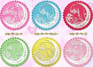 """sailor moon"" ""sailor moon merchandise"" ""sailor moon crystal"" ""sailor moon anime"" ""sailor moon toys"" ""sailor moon collectibles"" coasters drink rubber anime japan shop"