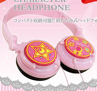 """sailor moon"" ""sailor moon merchandise"" ""sailor moon toys"" ""sailor moon 2015"" headphones earphones accessories music anime japan ""crystal star"" ""sailor moon compact"" shop"