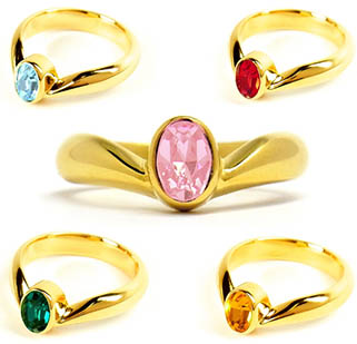 """sailor moon"" ""sailor moon ring"" ""sailor moon crystal"" ""sailor moon merchandise"" ""sailor moon jewelry"" tiara gold ""swarovski crystal"" anime japan fashion shopping"