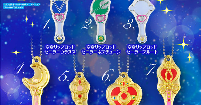 NEW Sailor Moon Makeup Plate Mini Gashapon Set 2 Coming This Month!