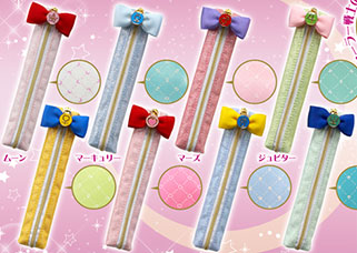 """sailor moon"" ""sailor moon stationery"" ""sailor moon merchandise"" ""sailor moon 2014"" ""makeup diary"" sailor neptune uranus pencil case japan shop"