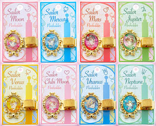 """sailor moon"" ""sailor moon stationery"" ""sailor moon merchandise"" ""sailor moon 2014"" ""makeup diary"" sailor neptune uranus bow clips japan"