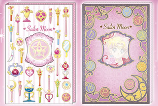 """sailor moon"" ""sailor moon stationery"" ""sailor moon merchandise"" ""sailor moon 2014"" ""makeup diary"" sailor neptune uranus stickers japan"
