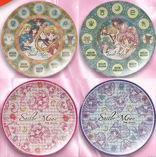 """sailor moon"" ""sailor moon merchandise"" ""sailor moon 2014"" ""sailor moon plates"" ""melamine plate"" home shop kitchen anime japan"