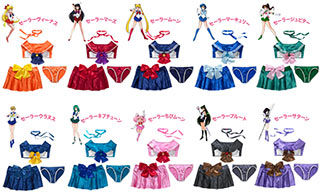 """sailor moon"" ""sailor moon merchandise"" ""sailor moon 2015"" ""sailor moon lingerie"" ""peach john"" japan fashion anime bra panties skirt cosplay shop"