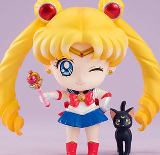 """sailor moon"" ""sailor moon figure"" ""sailor moon merchandise"" ""sailor moon toys"" ""sailor moon doll"" luna ""cutie moon rod"" megahouse ""petit chara"" anime japan shop"