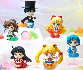 """sailor moon"" ""sailor moon figures"" ""sailor moon toys"" ""sailor moon merchandise"" ""sailor moon 2015"" ""petit chara"" megahouse anime shop japan"
