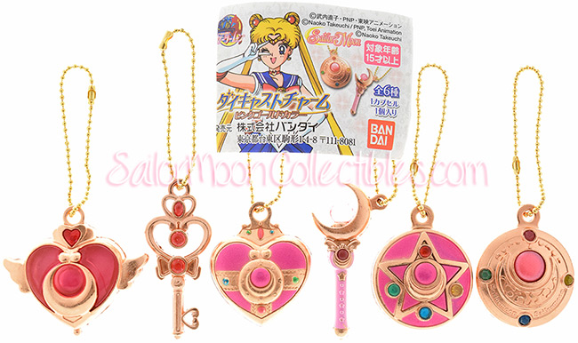 """sailor moon"" ""sailor moon gashapon"" ""sailor moon toys"" ""sailor moon merchandise"" ""sailor moon wand"" ""sailor moon compact"" ""pink gold"" gashapon charm anime toy japan"