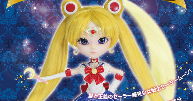 Sailor Moon Pullip Doll Available for Preorder at Premium Bandai!