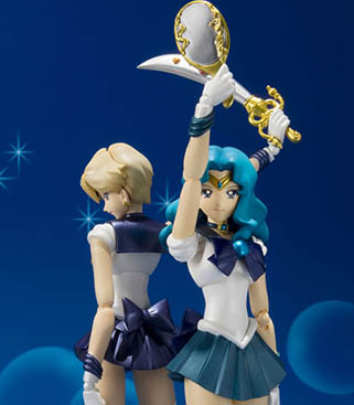 """sailor moon"" ""sailor moon merchandise"" ""sailor moon figure"" ""sailor moon 2014"" ""sailor moon toys"" ""sailor neptune"" ""sailor uranus"" ""s.h. figuarts"" anime japan toy shopping bandai 2015"