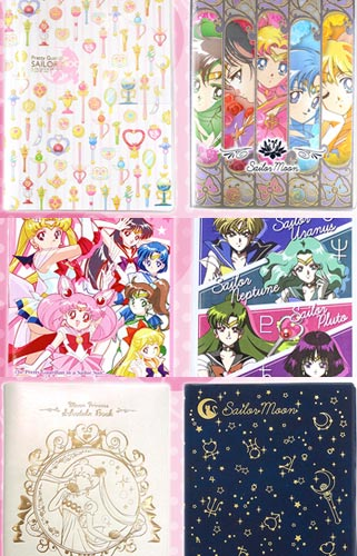 """sailor moon"" ""sailor moon merchandise"" ""sailor moon 2015"" ""sailor moon calendar"" ""schedule book"" japan anime shopping buy"