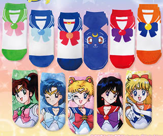 """sailor moon"" ""sailor moon merchandise"" ""sailor moon 2014"" ""sailor moon socks"" japan anime 2014 merchandise shopping luna"