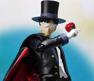"""sailor moon"" ""sailor moon figure"" ""sailor moon merchandise"" ""sailor moon 2015"" ""s.h. figuarts"" ""tamashii nations"" bandai japan anime 2015 shop ""tuxedo mask"""