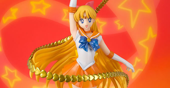Sailor Venus Figuarts ZERO Officially Announced + New Pic of the Capsule Goods Gashapon Set