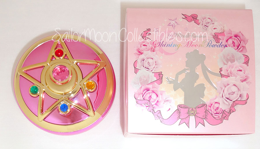 """sailor moon"" ""sailor moon toys"" ""sailor moon compact"" ""sailor moon locket"" ""sailor moon merchandise"" ""sailor moon 2013"" ""miracle romance"" ""shining moon powder"" makeup cosmetics toy new anime merchandise bandai japan 2013"
