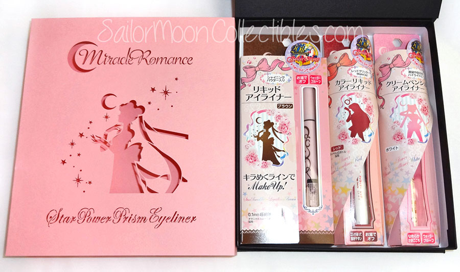 """sailor moon"" ""sailor moon merchandise"" ""sailor moon makeup"" ""sailor moon cosmetics"" ""sailor moon eyeliners"" ""limited edition"" anime japan 2014 shopping fashion eyeliner makeup"
