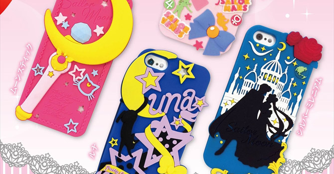 New Sailor Moon iPhone 5 & 5s Cases Coming Soon in Sept 2014