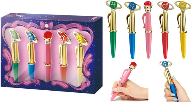 [New Merch] Sailor Moon Disguise & Classic Transformation Pens Sailormoon-disguise-transformation-pens2014feat